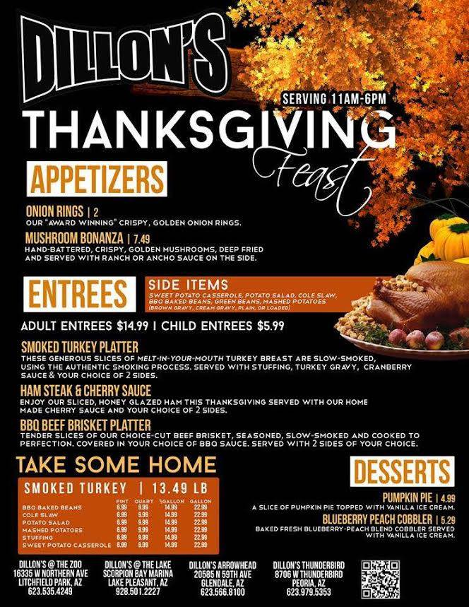 Thanksgiving at Dillon's KC BBQ