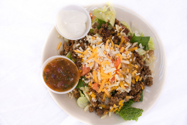 Beef Taco Salad- NO shell