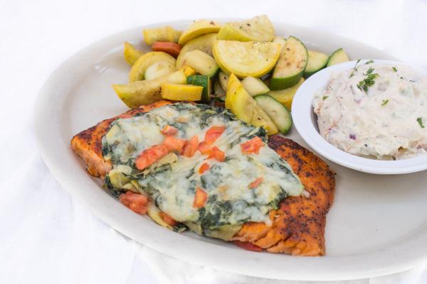 Gluten Free OMG Salmon