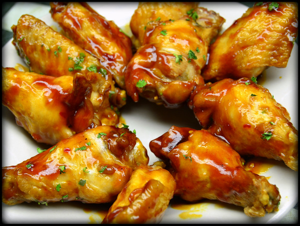 Sweet & Spicy Wings