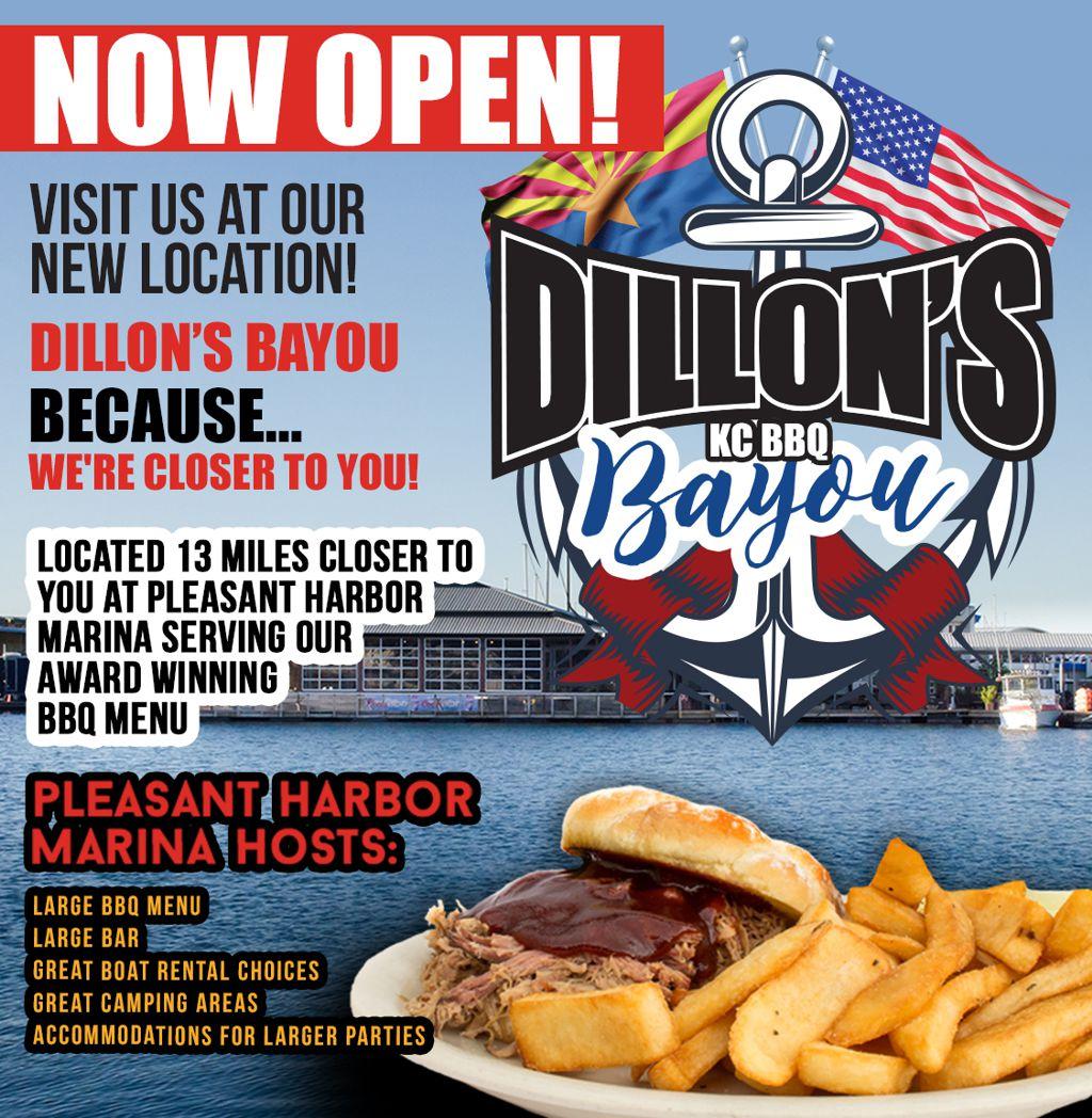 Dillon's Bayou Now Open